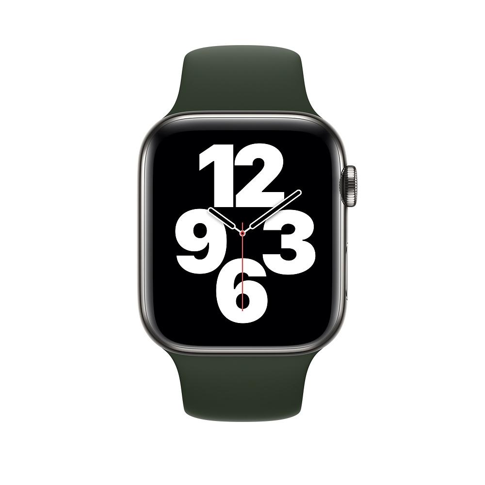 Aksesoar-Apple-Watch-44mm-Band-Cyprus-Green-Sport-APPLE-MG433ZM-A