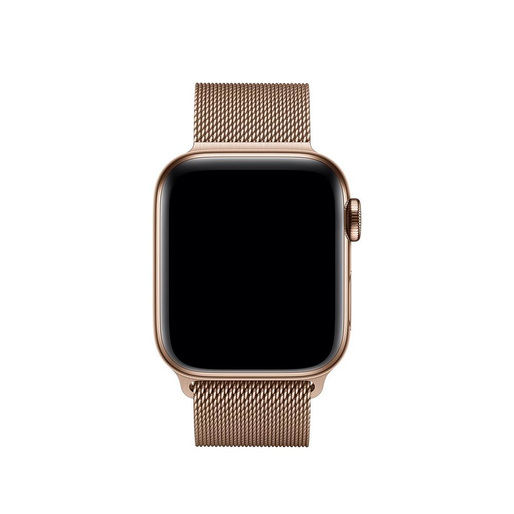 Aksesoar-Apple-Watch-40mm-Band-Gold-Milanese-Loop-APPLE-MTU42ZM-A