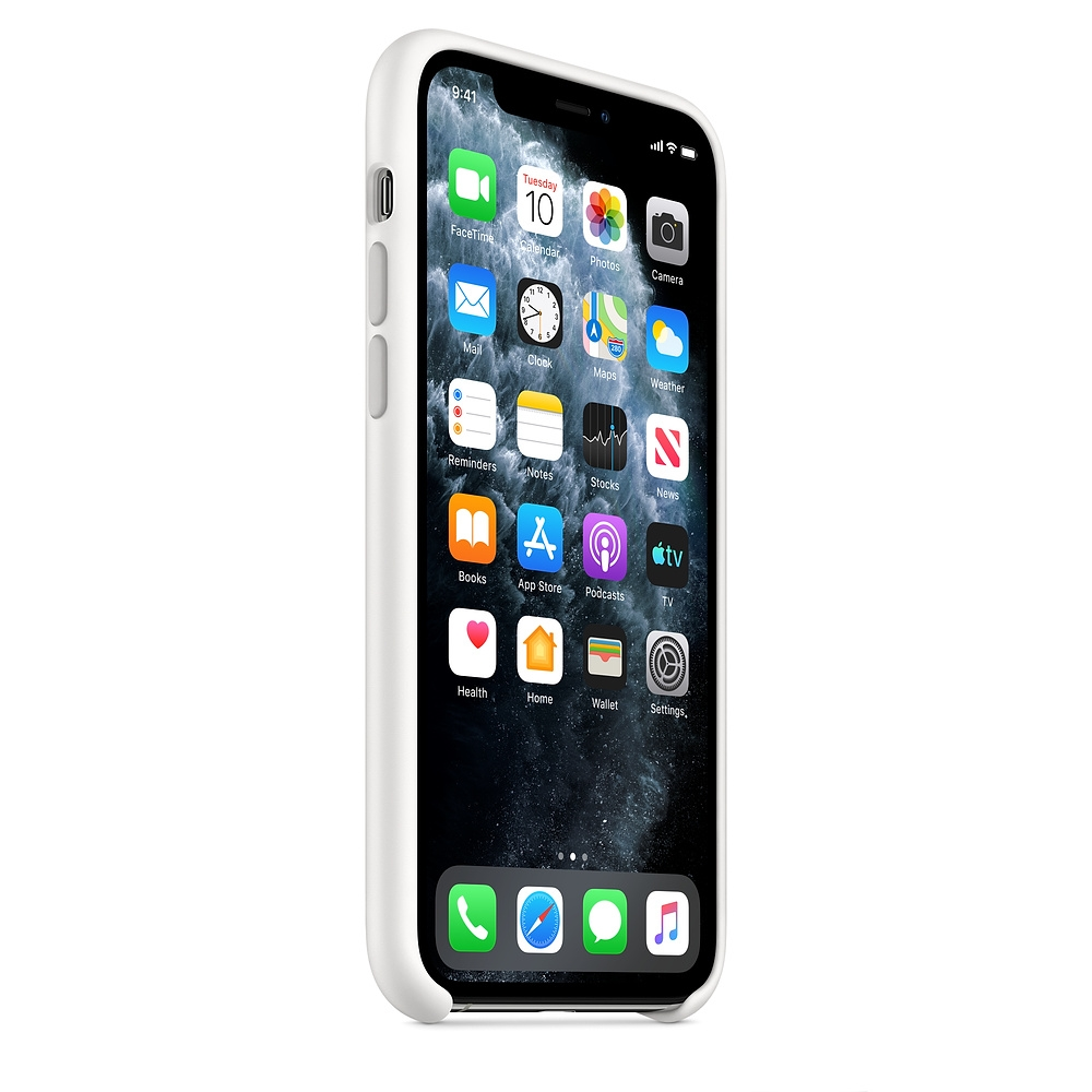 Kalaf-Apple-iPhone-11-Pro-Silicone-Case-White-APPLE-MWYL2ZM-A