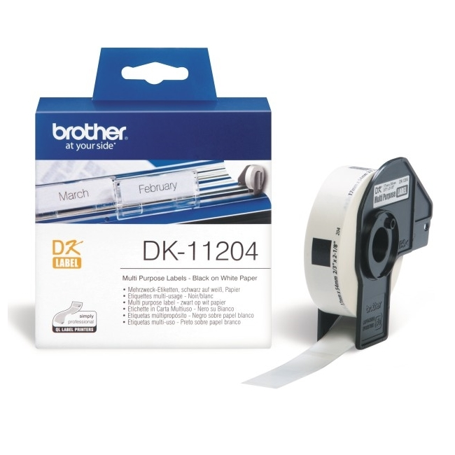 Konsumativ-Brother-DK-11204-Multi-Purpose-Labels-BROTHER-DK11204
