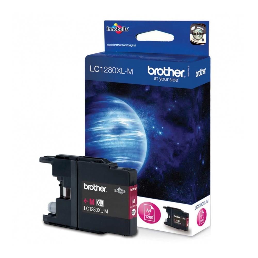Konsumativ-Brother-LC-1280XL-Magenta-Ink-Cartridge-BROTHER-LC1280XLM