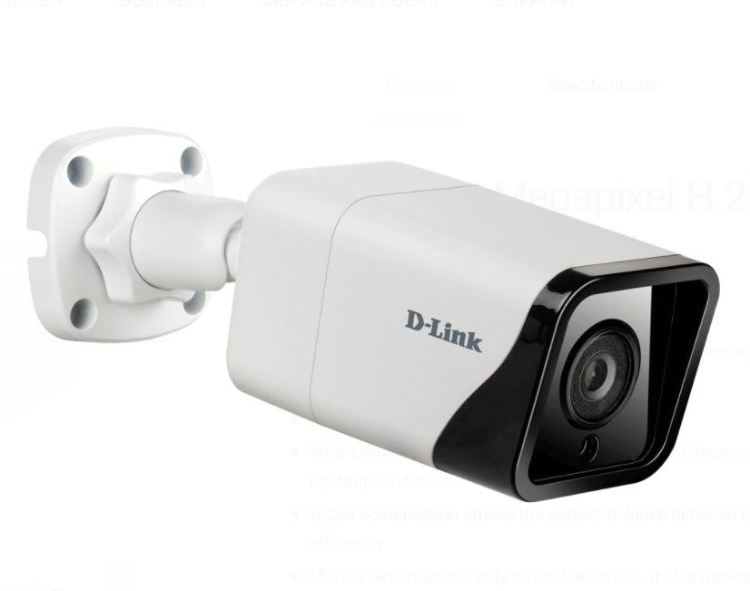 Kamera-D-Link-8-Megapixel-H-265-Outdoor-Bullet-Cam-D-LINK-DCS-4718E