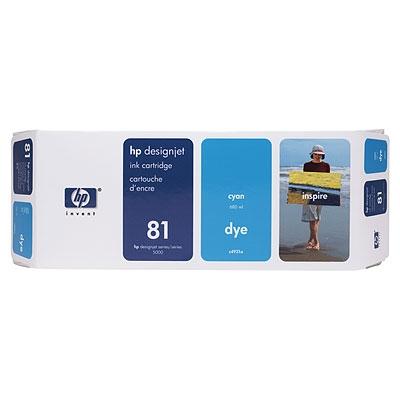 Konsumativ-HP-81-680-ml-Cyan-Dye-Ink-Cartridge-HP-C4931A