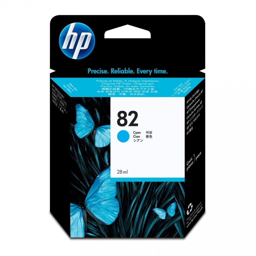 Konsumativ-HP-82-28-ml-Cyan-Ink-Cartridge-HP-CH566A