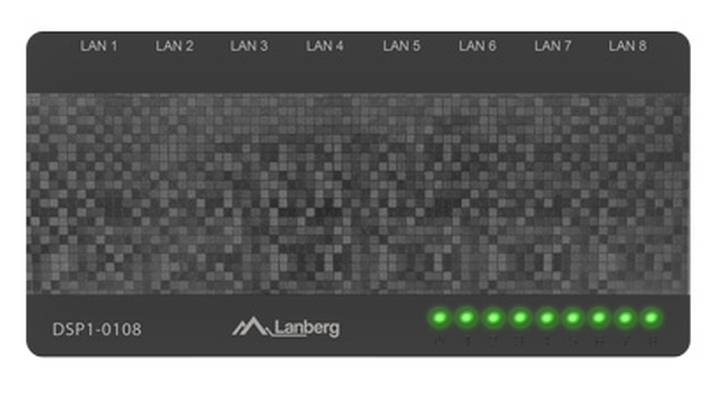 Komutator-Lanberg-switch-DSP1-0108-8-port-100MB-s-LANBERG-DSP1-0108