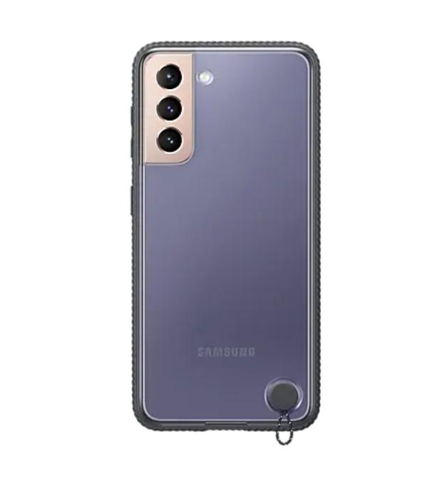 Kalaf-Samsung-S21-Clear-Protective-Cover-Black-SAMSUNG-EF-GG991CBEGWW