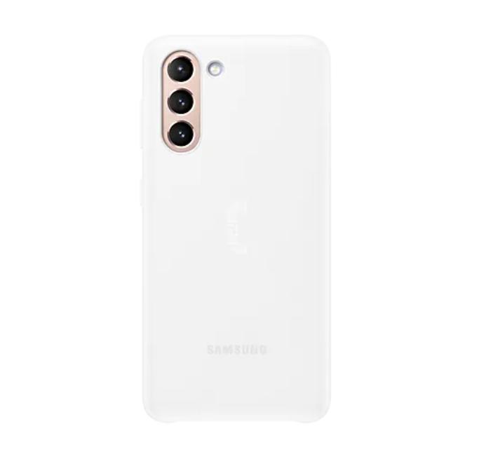 Kalaf-Samsung-S21-Smart-LED-Cover-White-SAMSUNG-EF-KG991CWEGWW
