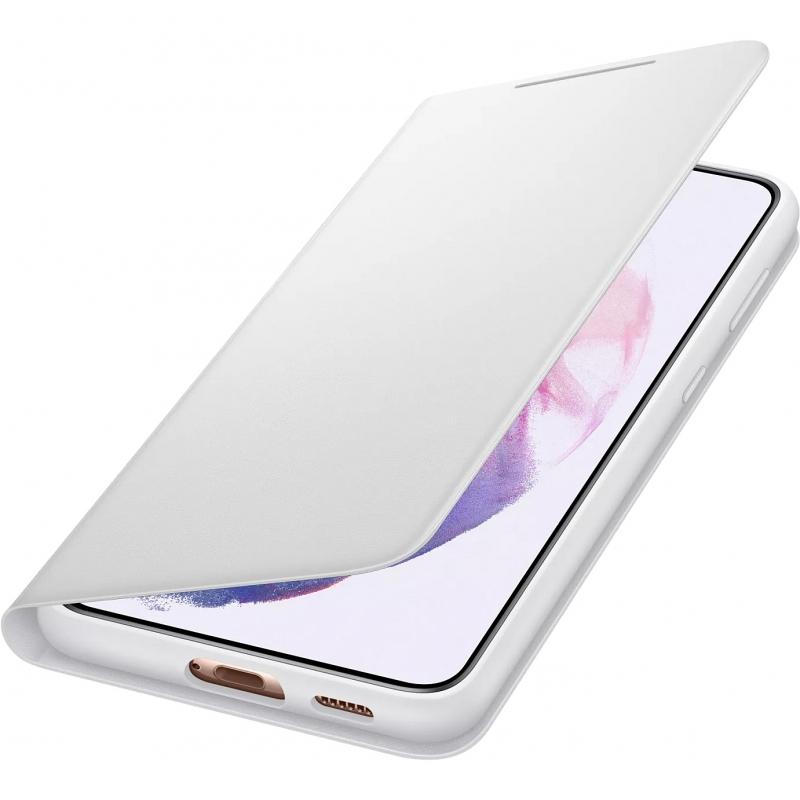 Kalaf-Samsung-S21-Smart-LED-View-Cover-Light-Gray-SAMSUNG-EF-NG996PJEGEE