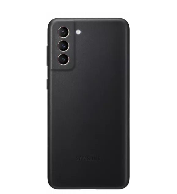 Kalaf-Samsung-S21-Leather-CoverBlack-SAMSUNG-EF-VG996LBEGWW