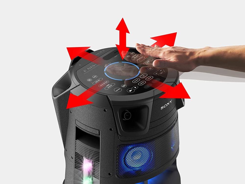 Audio-sistema-Sony-MHC-V83D-Party-System-with-Blue-SONY-MHCV83D-CEL