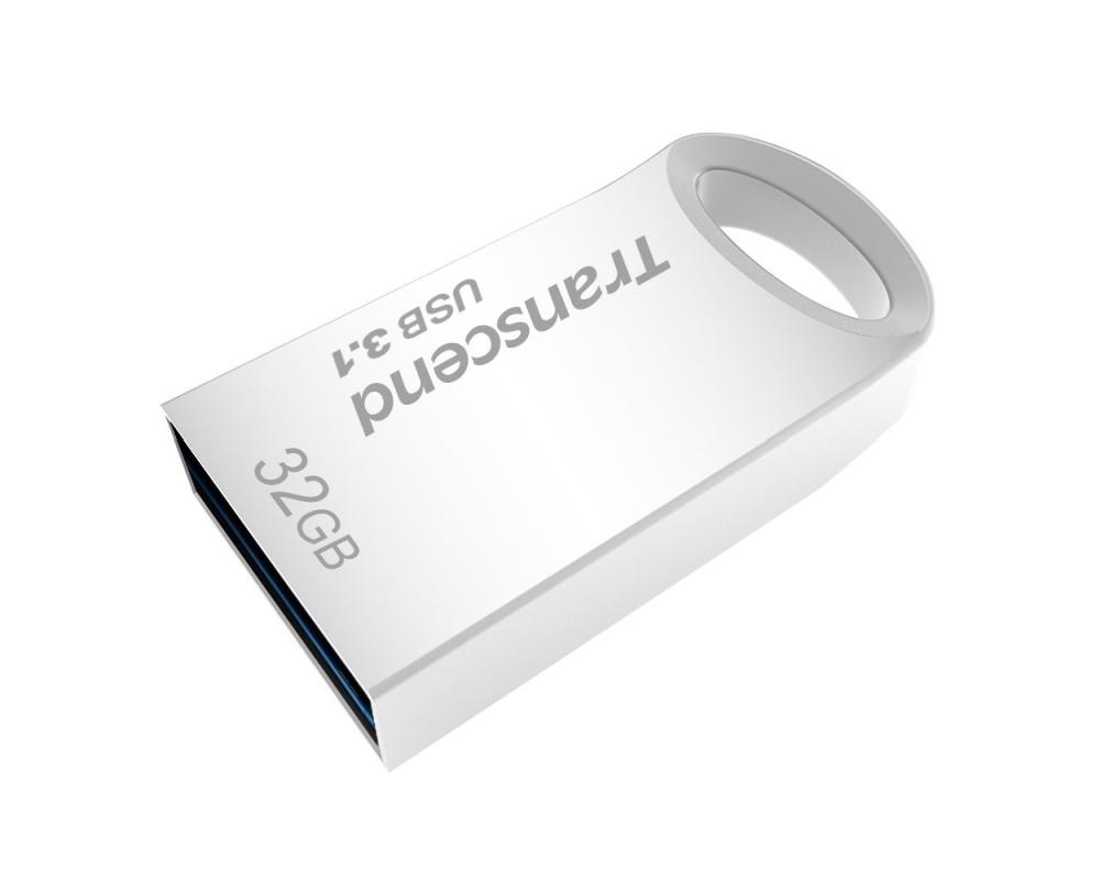 Pamet-Transcend-32GB-JETFLASH-710-USB-3-1-Silver-TRANSCEND-TS32GJF710S