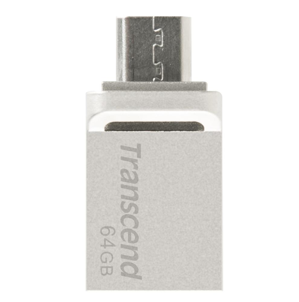 Pamet-Transcend-64GB-JF880-OTG-USB3-0-Silver-TRANSCEND-TS64GJF880S
