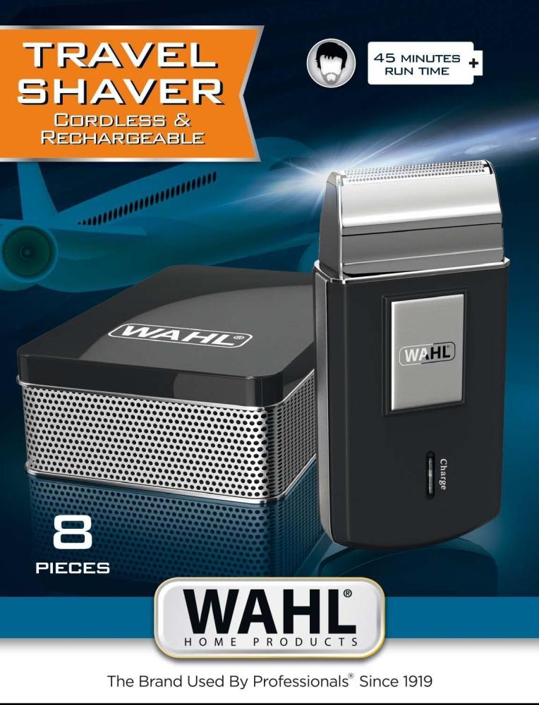 Trimer-Wahl-03615-1016-Travel-Shaver-Rechargeabl-WAHL-03615-1016