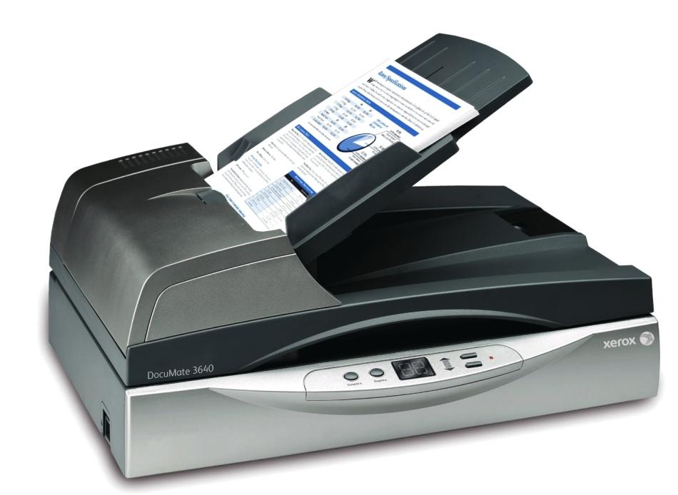 Skener-Xerox-Documate-3640-Kofax-Vrs-PRO-XEROX-003R92156